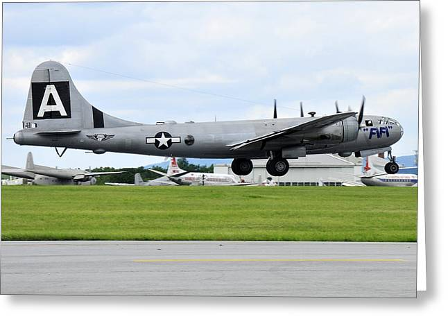 Boeing B-29 Superfortress Greeting Card by Dan Myers