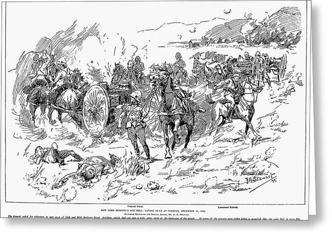 Boer War, 1899 Greeting Card by Granger