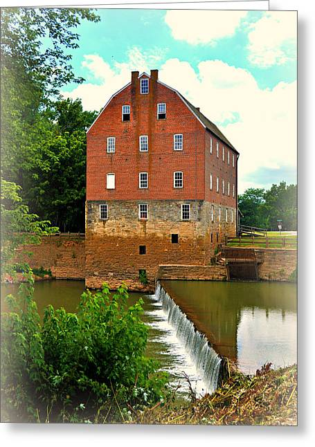 Bollinger Mill Greeting Card by Marty Koch