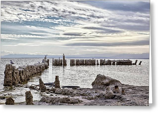 Bombay Beach Salton Sea 2 Greeting Card
