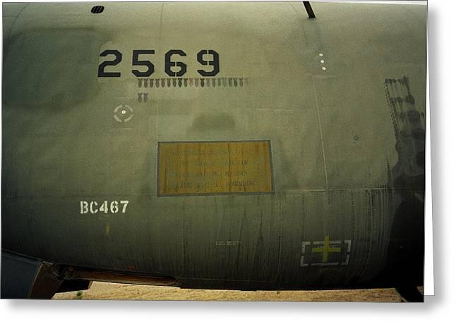 Bombs Away - B52d Greeting Card