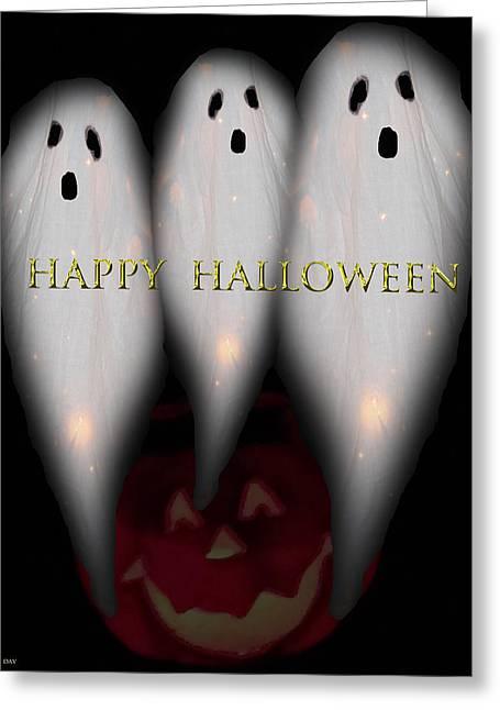Boo-boo-boo Greeting Card by Debra     Vatalaro