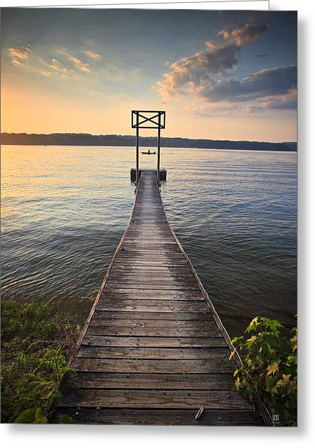 Booker T Dock 2 Greeting Card