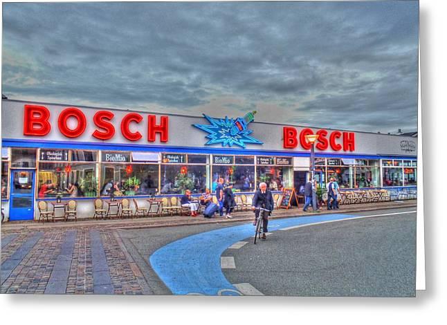 Bosch Greeting Card by Barry R Jones Jr