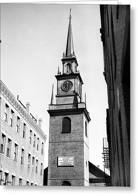 Boston: Old North Church Greeting Card by Granger