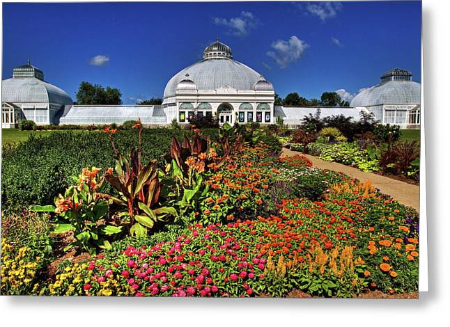 Greeting Card featuring the photograph Botanical Botanical Gardens by Don Nieman