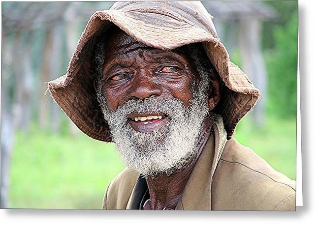 Botswanan Man Greeting Card