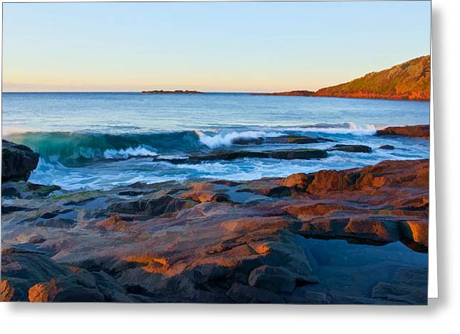 Boulder Bay Sunrise Greeting Card
