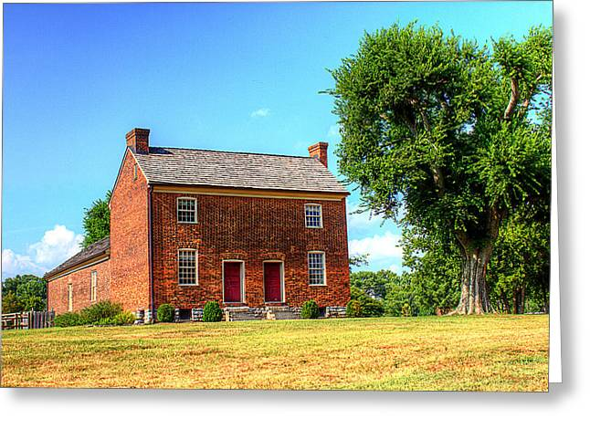 Bowen Plantation House 002 Greeting Card by Barry Jones