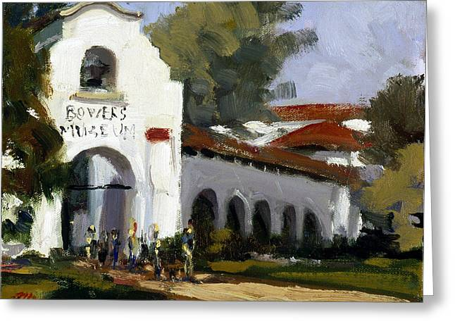 Bowers Museum Greeting Card by Mark Lunde