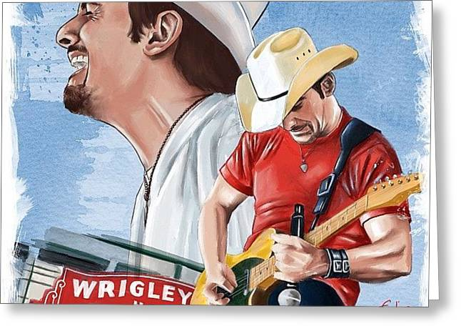 Brad Paisley Greeting Card