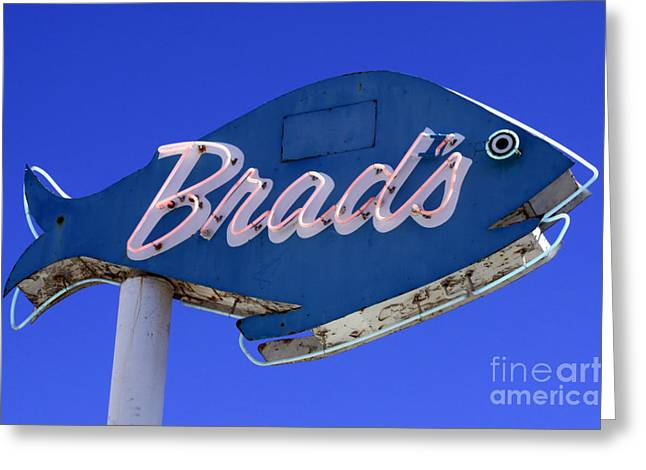 Greeting Card featuring the photograph Brad's Fish by Denise Pohl