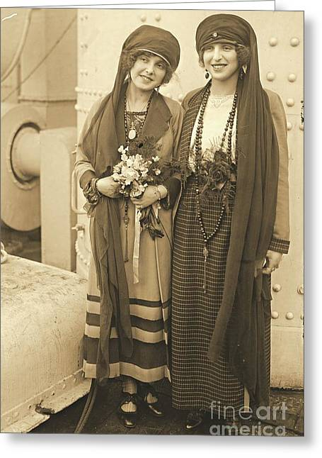 Braggiotti Sisters Greeting Card
