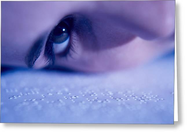 Braille Greeting Card by Cristina Pedrazzini