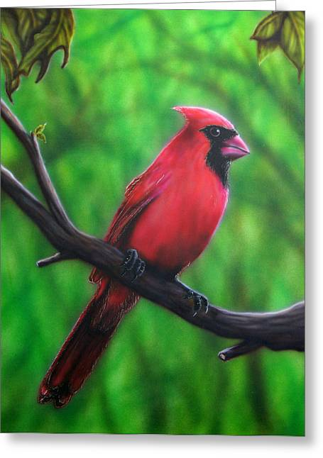 Branch Manager Greeting Card by Mike Wilber
