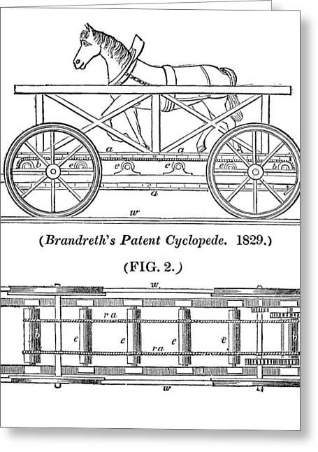 Brandreth's Cyclopede Greeting Card