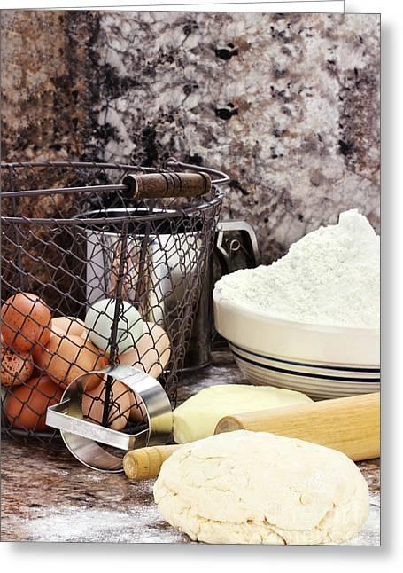 Bread Making Greeting Card