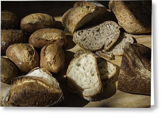 Bread Greeting Card by Michael Wessel