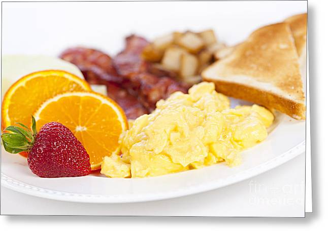 Breakfast Greeting Card