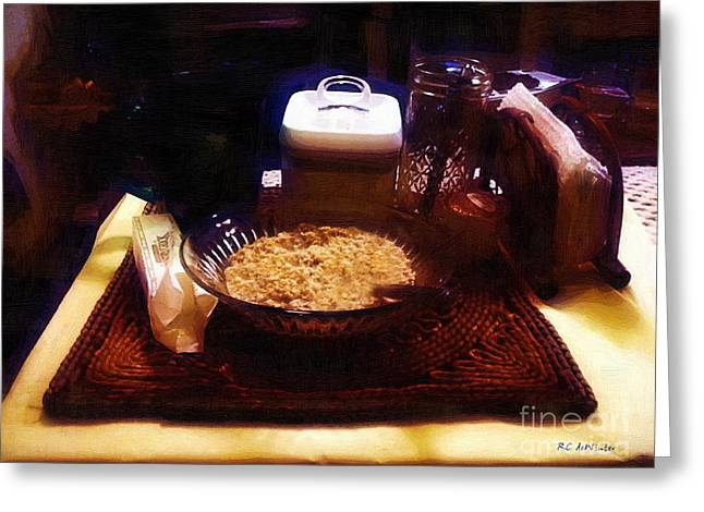 Breakfast Of Champions Greeting Card by RC DeWinter