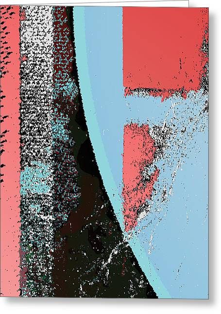 Breaking Away From Societal Norms Greeting Card by Jimi Bush