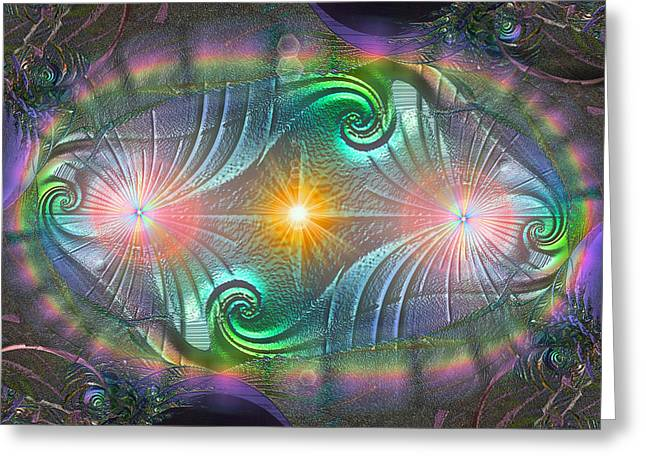 Breakthrough Greeting Card by Michael Durst