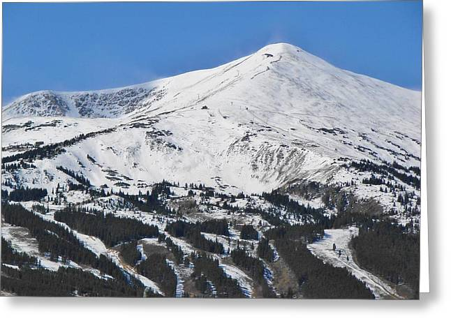 Breckenridge Peak 8 Greeting Card