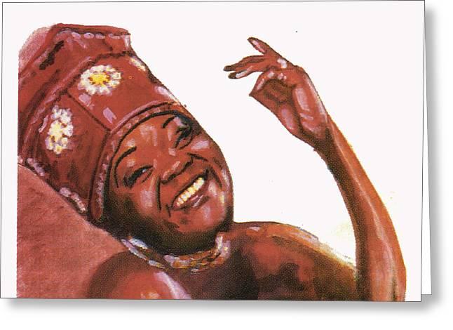 Brenda Fassie Greeting Card
