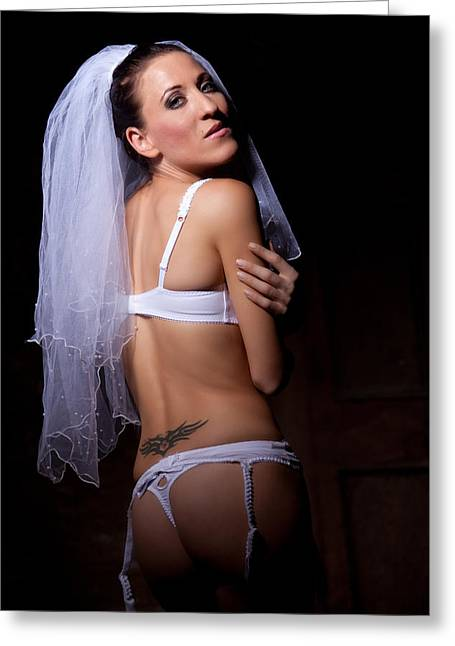 Bride Greeting Card by Ralf Kaiser