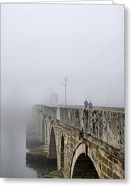 Bridge - 3 Greeting Card by Okan YILMAZ