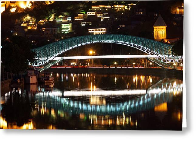 Bridge Greeting Card by Ivan Slosar