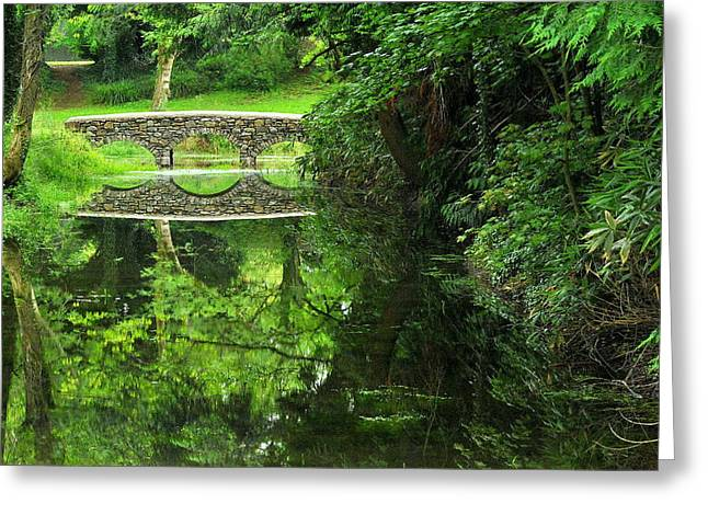 Bridge Of Tranquillity Greeting Card