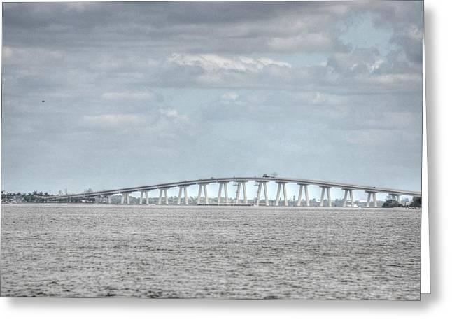 Bridge Passage Greeting Card by Barry R Jones Jr