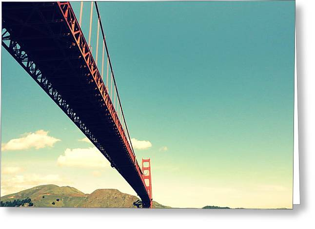 Bridge To The Headlands Greeting Card by Eliot Jenkins