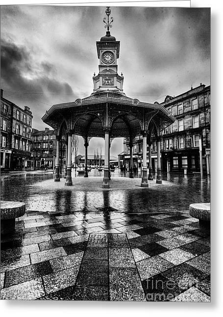 Bridgeton Cross Bandstand Glasgow Greeting Card by John Farnan