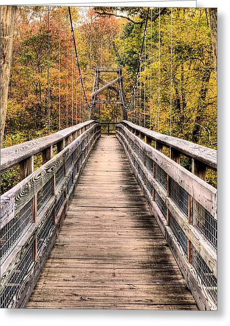 Bridging The Seasons Greeting Card by JC Findley