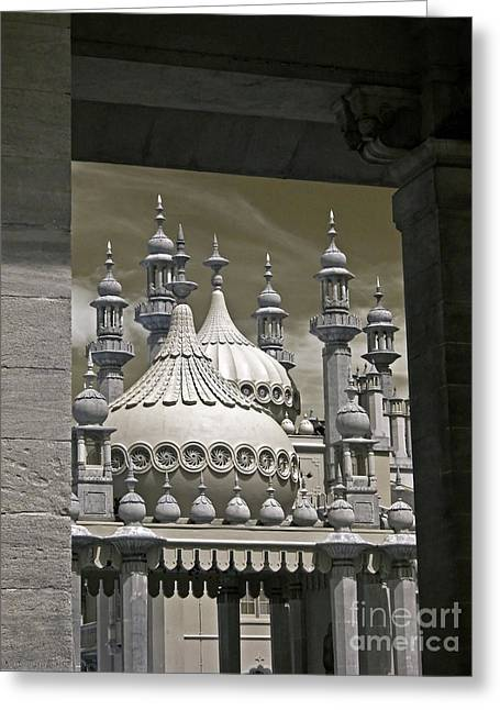 Brighton Pavilion Architecture 2 Greeting Card by Steven Cragg