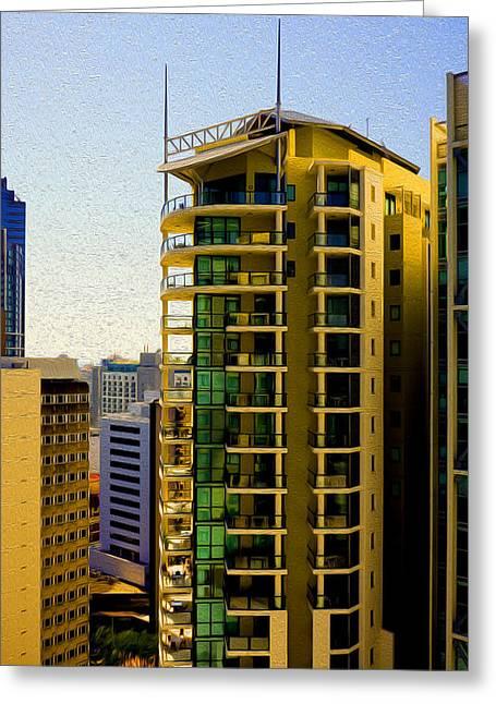 Brisbane 25th Floor 02 Greeting Card by Joe Michelli