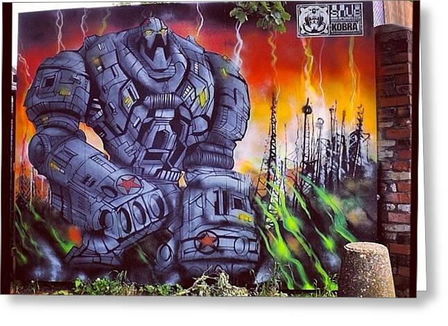 #bristolgraffiti #graffiti #graffitiart Greeting Card