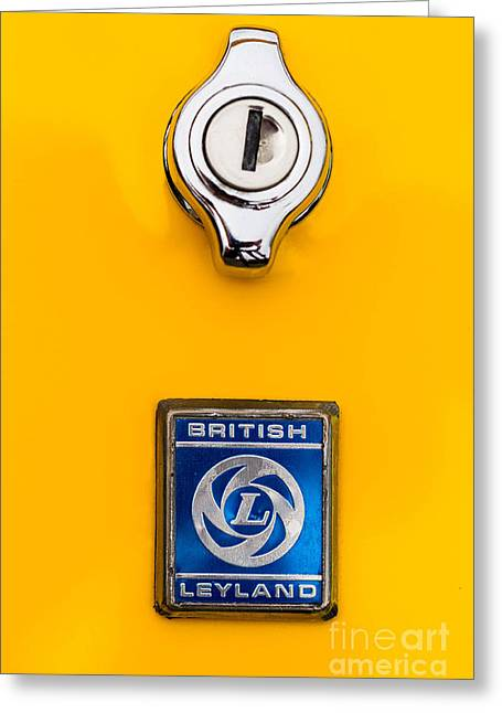 British Leyland Greeting Card by Jerry Fornarotto