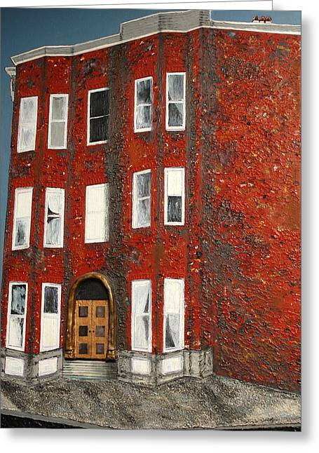 Bronx Building Greeting Card