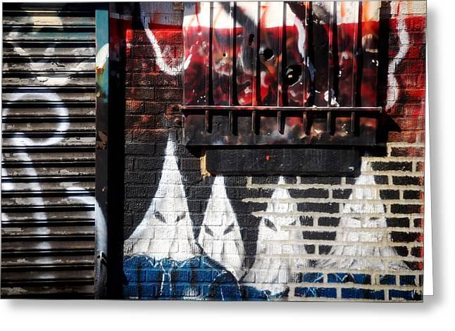 Bronx Graffiti - 3 Greeting Card by RicardMN Photography
