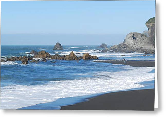 Brookings Oregon Coast Greeting Card by Twenty Two North Photography