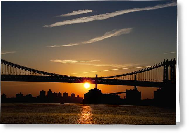 Brooklyn Sunrise Greeting Card