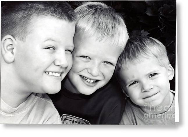 Brothers Three Greeting Card