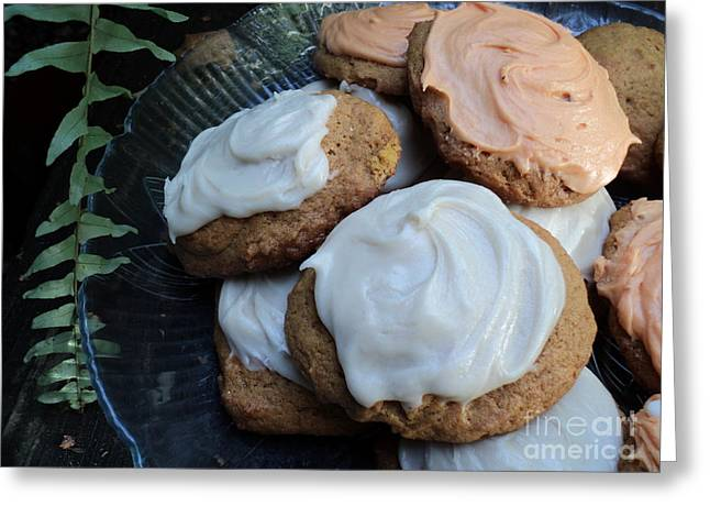 Brown Butter Pumpkin Cookies Greeting Card by Jennifer Kelly
