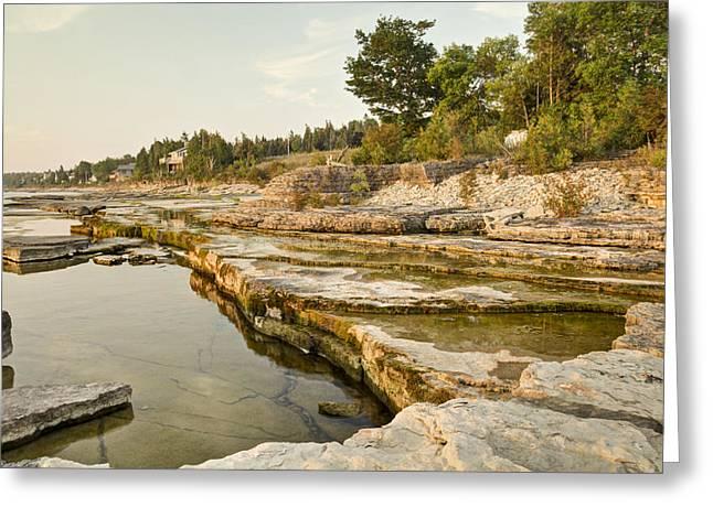 Bruce Peninsula Ontario Landscape Greeting Card
