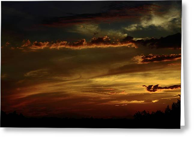 Brush Strokes Greeting Card by Tanya Chesnell