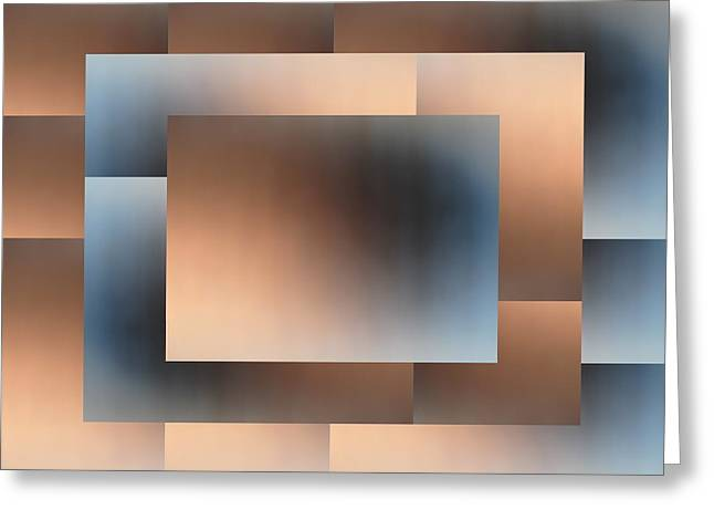 Brushed 01 Greeting Card by Tim Allen