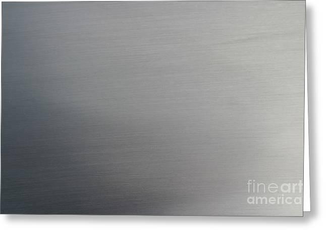 Brushed Metal Greeting Card